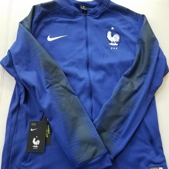 2018 FIFA World Cup France Anthem Full-Zip Jacket b6fcc9cb9